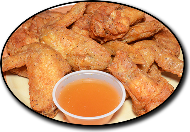 Juicy chicken wings